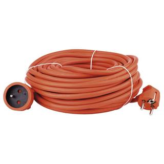 EMOS Predlžovací kábel 3x1,5mm 1 zásuvka 20m oran
