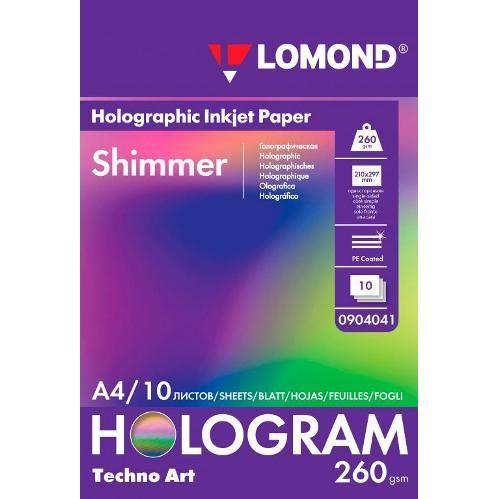 LOM Fine Art Techno Shrimmer 260g/m2 10sh A4