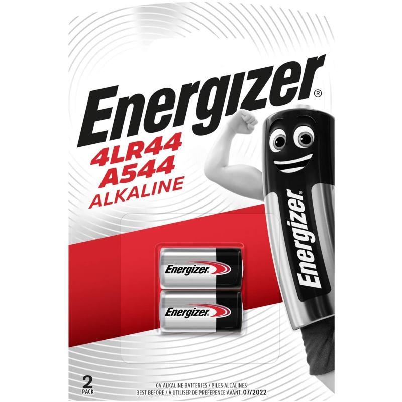 ENERGIZER Alkaline, Batérie, 4LR44, 544A, 6V, 2ks