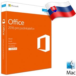 MS OFFICE Pre podnikateľov 2016 SK ML for Mac