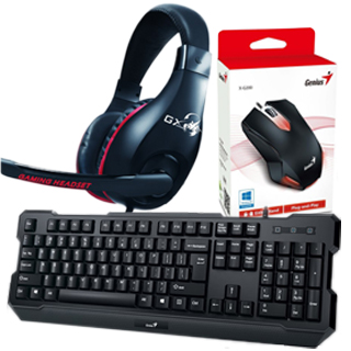 GENIUS GX GAMING KMH-200 Herný set