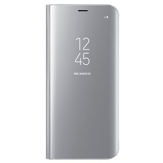 SAMSUNG Púzdro CLEAR View Galaxy S8 Silver