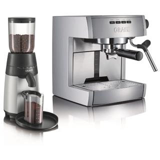 GRAEF Set Espresso + Mlynček ES 70 + CM 70