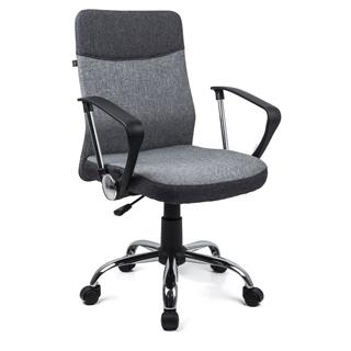 HOME KRAFT Kancelárska stolička DAVIK šedá
