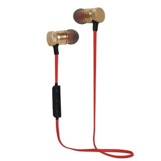 CARNEO Bluetooth Slúchadlá do uší S3 červené