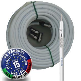 CAVEL Kábel RP65B PVC 6,6mm mini roll 20m