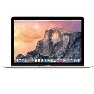 "APPLE MacBook 2017 12"" Retina i5/8G/512G Gld"