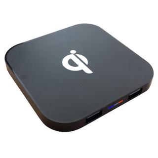 InHouse Bezdrôtová nabíjačka Qi s USB MKF-WT4N