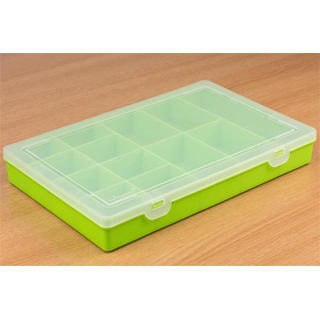 PIMORONI Component Storage Box - 13x Lime