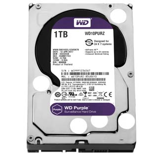 WD PURPLE 1TB/3,5