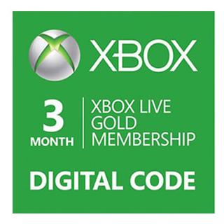 XBOX LIVE Gold karta 3 mesiace - elektronický kluč