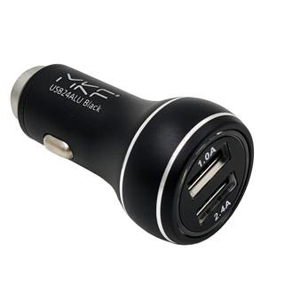InHOUSE Auto USB Nabíjač MKF-USB24ALU