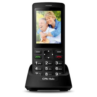 MYPHONE Telefón pre seniorov HALO PLUS čierny