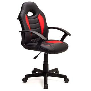 HOME KRAFT Kancelárska stolička DYNAMIC Červená