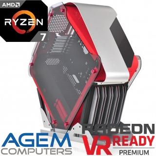 AGEM Ambition R7 1700X/16G/240G+1T/RX 580/W10