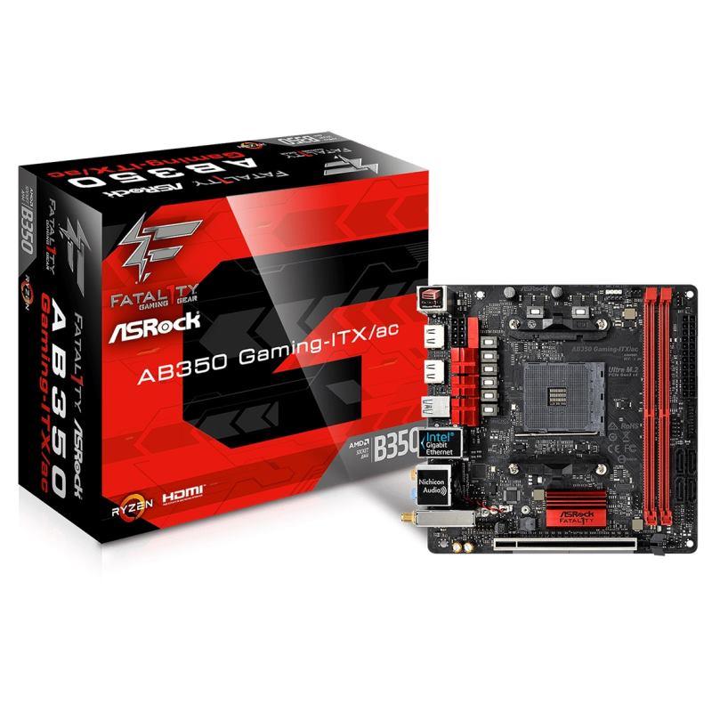 ASROCK Základná doska Fatal1ty AB350 Gaming-ITX/ac