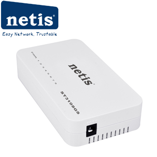 NETIS ST3108GS 8-port GB switch 8x 10/100/1000Mbps