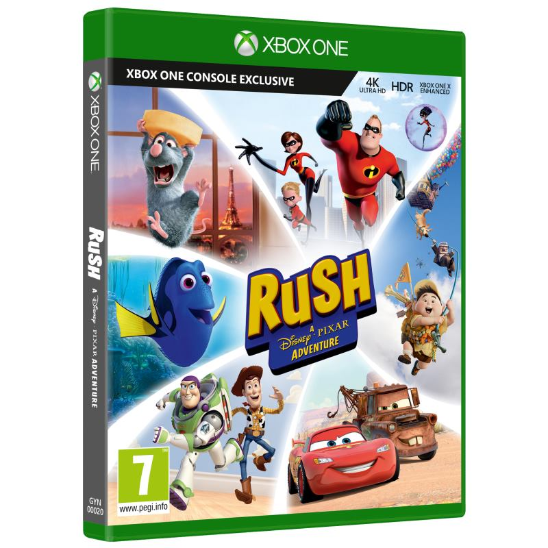 XBOX ONE Rush: A Disney Pixar Adventure GYN-00020