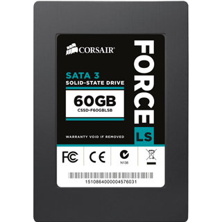 "CORSAIR SSD FORCE LS 60GB/2,5""/SATA3/7mm"
