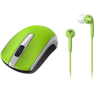 GENIUS Bezdrôtová myš MH-8100 zelená