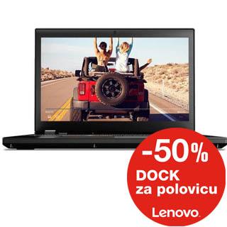 """LENOVO P51 15,6"""" 4K E3/32G/1T/M2200/W10P"""