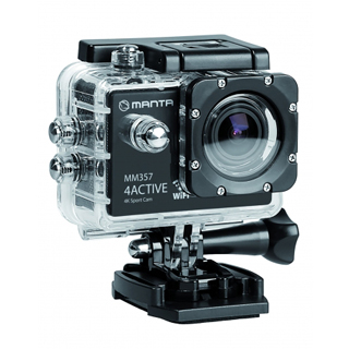 MANTA Športová kamera 4K WiFi 4ACTIVE MM357