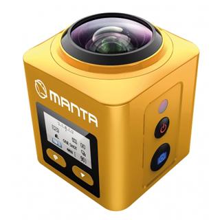 MANTA Športová kamera 360 WiFi ACTIVE MM9360