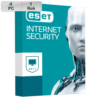 ESET Internet Security 2018 4PC na 1r