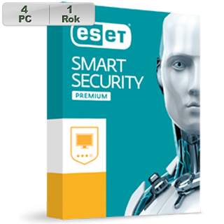 ESET Smart Security Premium 2019 4PC na 1r