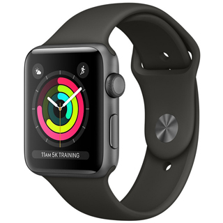 APPLE Watch SERIES 3 GPS SG ALU Case Sport GR 42mm