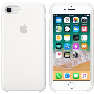 APPLE Silikónové púzdro pre iPhone 8/7 Wht