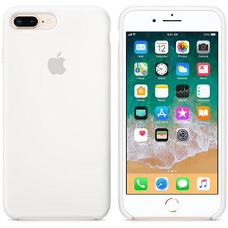 APPLE Silikónové púzdro pre iPhone 8P/7P Wht