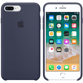 APPLE Silikónové púzdro pre iPhone 8P/7P Mid Blu