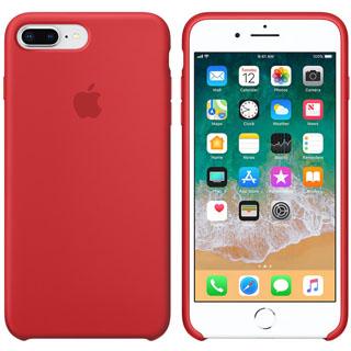 APPLE Silikónové púzdro pre iPhone 8P/7P PRO Red