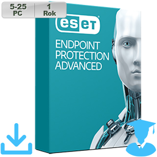 ESET Endpoint Prot Adv 2018 EDU 5-25PC na 1r