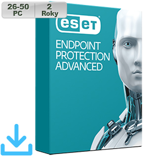 ESET Endpoint Prot Adv 2018 26-50PC na 2r