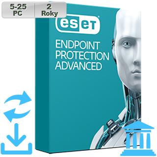 ESET Endpoint Prot Adv GOV 2018 5-25PC na 2r Aktu