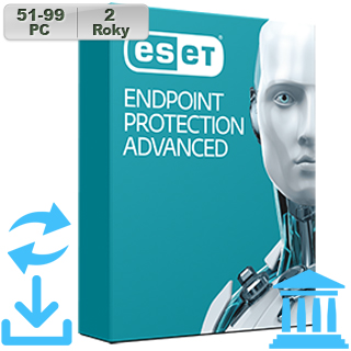 ESET Endpoint Prot Adv GOV 2018 51-99PC na 2r Aktu