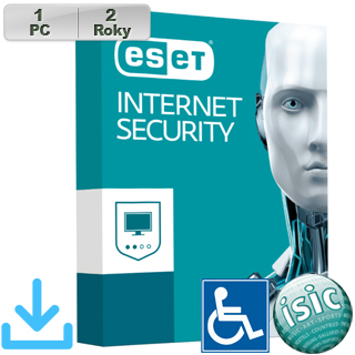 ESET Internet Security 2018 ZTP 1PC na 2r