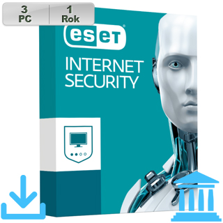 ESET Internet Security 2018 GOV 3PC na 1r