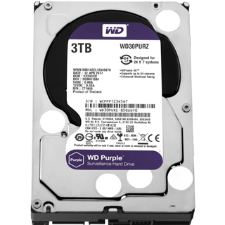 WD PURPLE 3TB/3,5