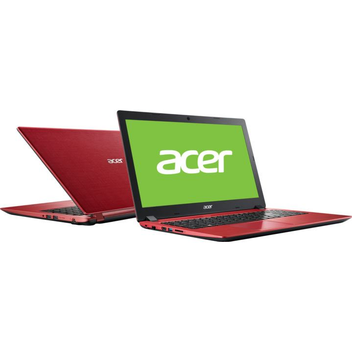 "ACER Aspire 3 15,6"" FHD i3-6006U/4G/1T/Int/W10 red"