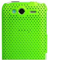 OEM Zadný ochranný kryt Mesh Green pre HTC Wildfir