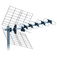 ISKRA DVB-T UHF anténa DTX-22F LTE 10-14dBi