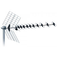 ISKRA DVB-T UHF anténa DTX-48F LTE 11-16dBi