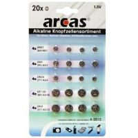 ARCAS Batérie alkalické 20ks AG1/3/4/10/13