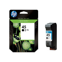 HP Cartridge 51645AE  7/8xx, BLACK 45