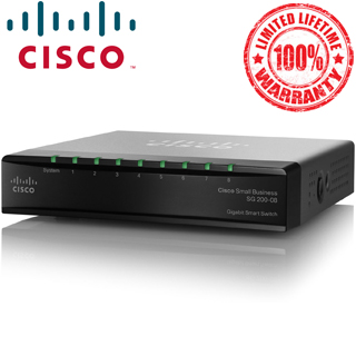 CISCO Switch 8-Port/1000Mbps/MAN/Desk