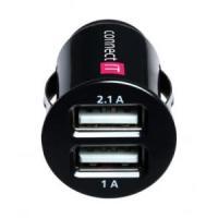 Connect IT auto adaptér 2xUSB 2.1A a 1A