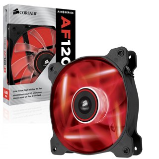 Corsair -- Air cooler AF120 LEDRed 120x25 1ks/led